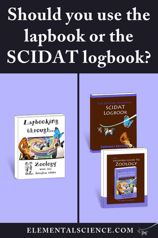 Should you use the SCIDAT logbook or the lapbook