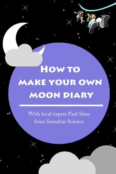 Learn about the moon and download free moon diary templates in this Sassafras Science activity from Elemental Science.