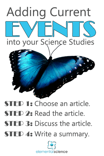 Adding Current Events into your Science Studies