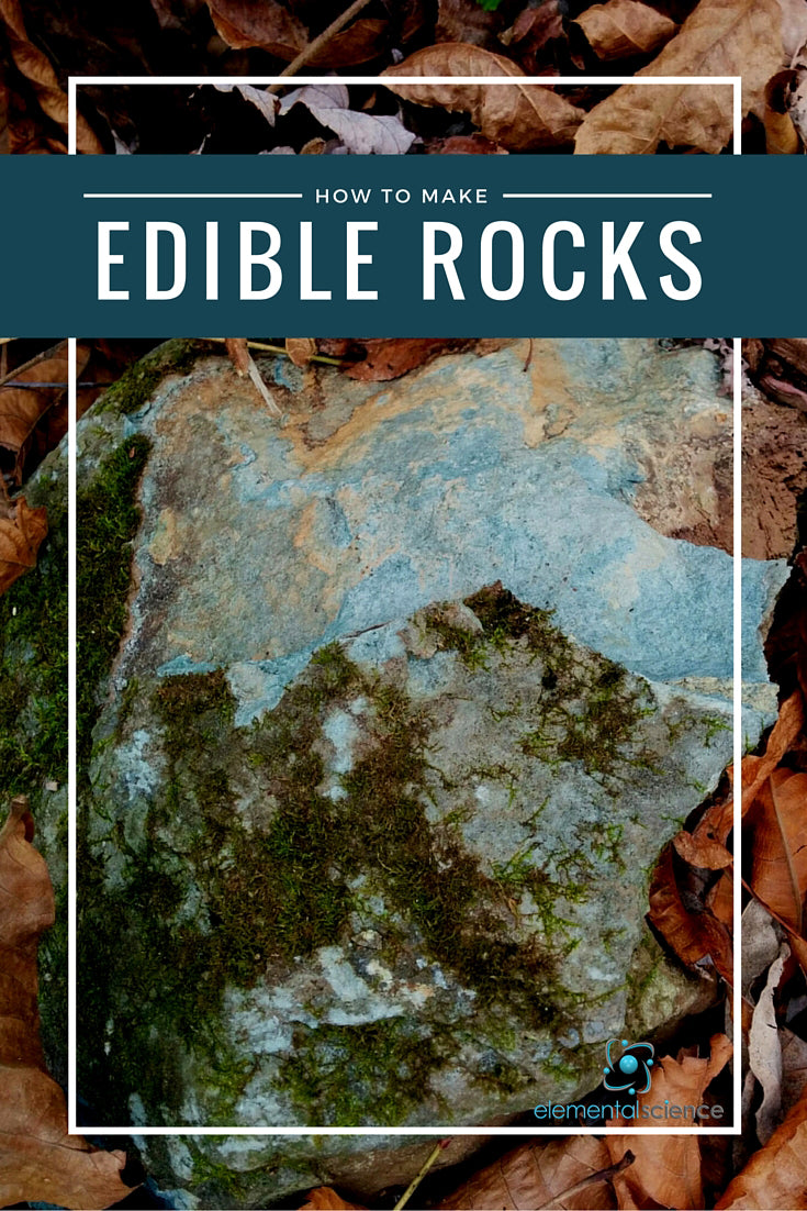 Nothing makes earth science more fun that an edible rock project!