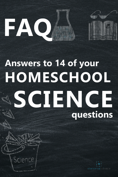 Got questions about science in your homeschool? We have got the answers.