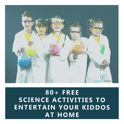 Are you stuck at home with nothing to do? Here are over 80 science activities to help you entertain your kids.