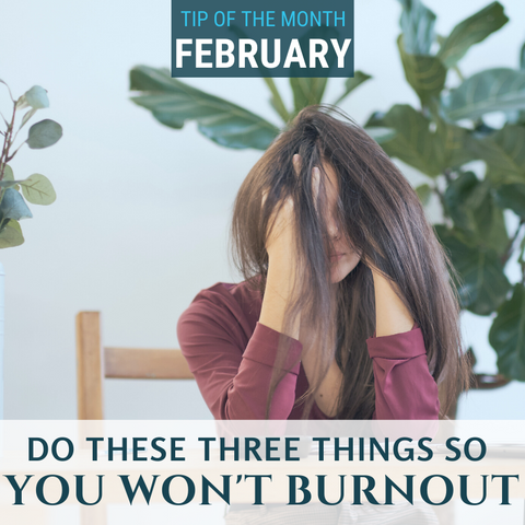 Do these three things so you won't burnout before the year is done. See them at Elemental Science.