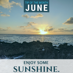 This June, enjoy some sunshine as you learn about science.