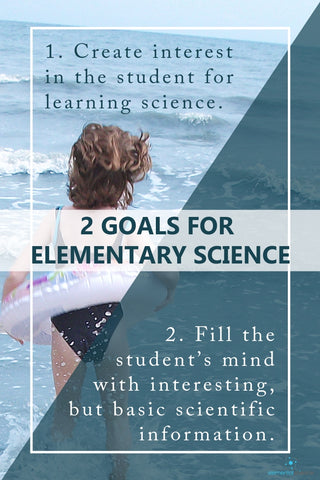 The Elementary Years Roadmap for Science – Part 1