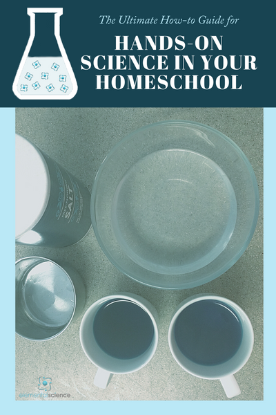 Are you frustrated with hands-on science in your homeschool? This how-to guide will help you get off the struggle bus!