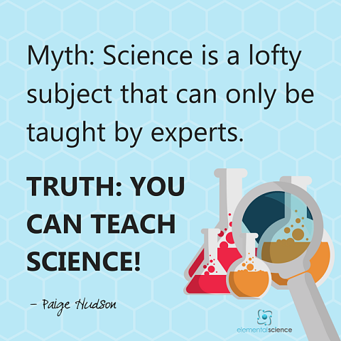 You are your child's perfect teacher and with the right tool, you can teach science.