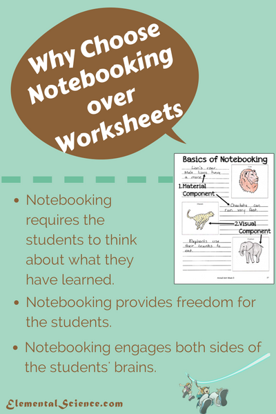Why Choose Notebooking over Worksheets?