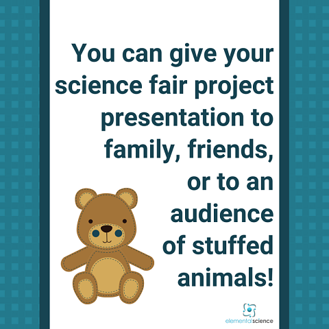 Listen to how to wrap up your science fair project.