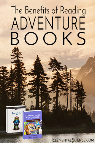 Adventure books, like the Sassafras Science series and the Growly triology, can take your students to places they can only imagine.