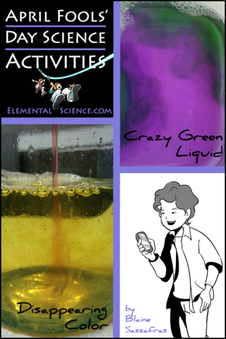April Fools' Day Science Activities {and a Giveaway!}