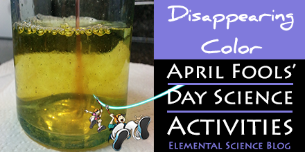 April Fools' Day science activity