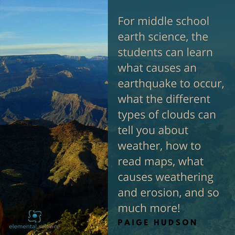 Great tips for teaching earth science to your middle schooler from Elemental Science!