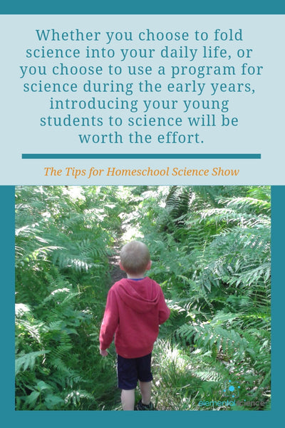 The Early Years Roadmap for Science