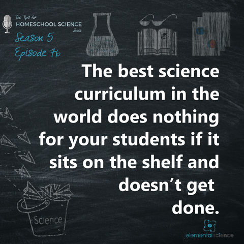 Should we combine for science? There are times when it is a good idea and times when it is not. Find out when by listening to episode 76 of the Tips for Homeschool Science Show.