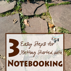 3 Easy steps for getting started with notebooking