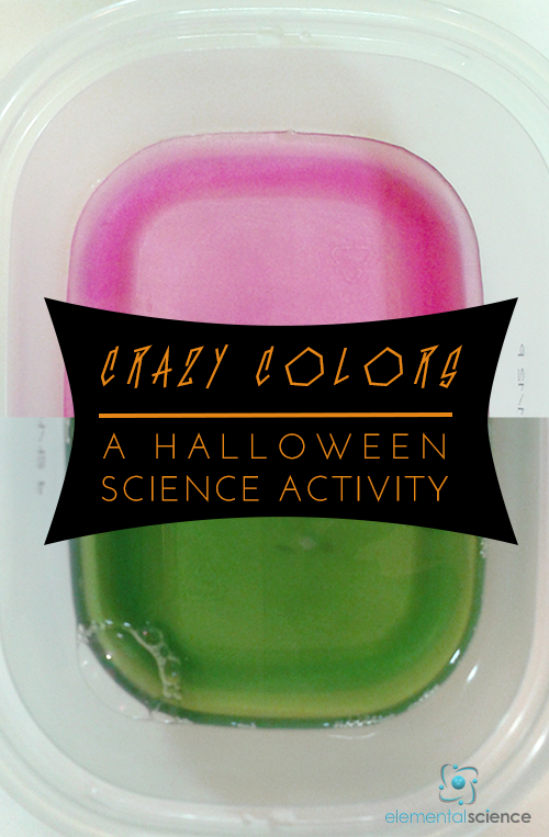 Amaze your students with this coloring changing Halloween science activity!