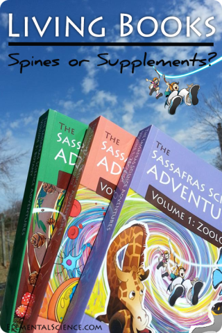 How to Use Living Books – Spines or Supplements?