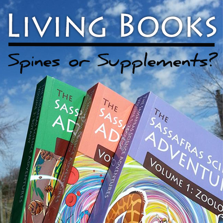 living books spines or supplements