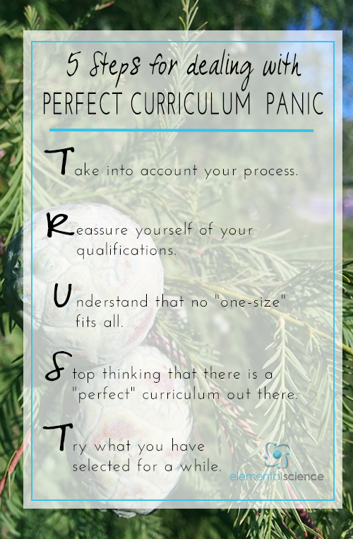 Follow these 5 steps to keep that perfect curriculum panic under control as you begin a new homeschool year!
