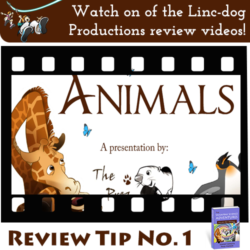 Sassafras Science Review Tip #1 - Watch President Lincoln's review videos.