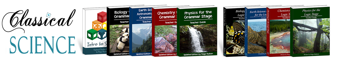 Award-winning Classical Science plans from Elemental Science
