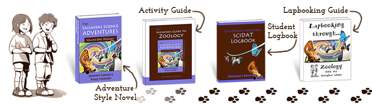 The Sassafras Science Adventures Volume One: Zoology
