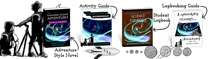 Go on an adventure as you learn about space in The Sassafras Science Adventures Volume 6: Astronomy.