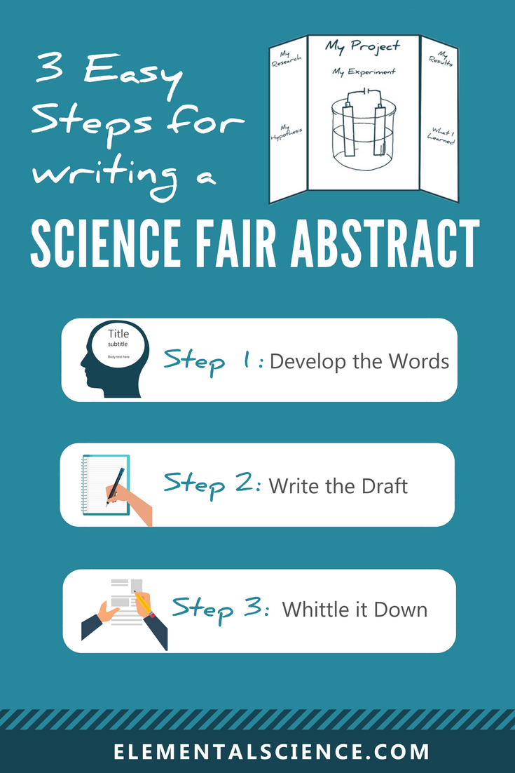 3 Easy Steps For Writing A Science Fair Abstract