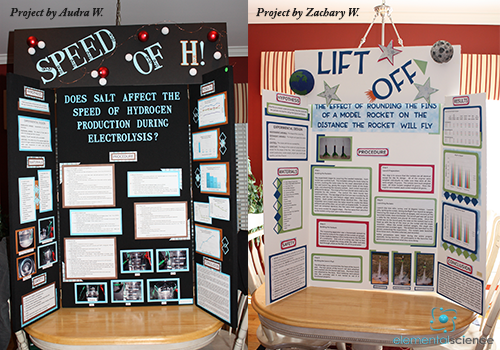 science project board sample