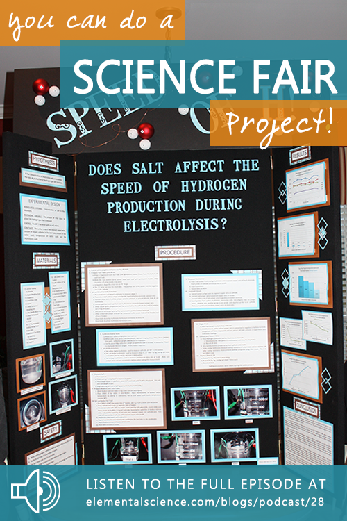 It's time to discuss the dreaded science fair project
