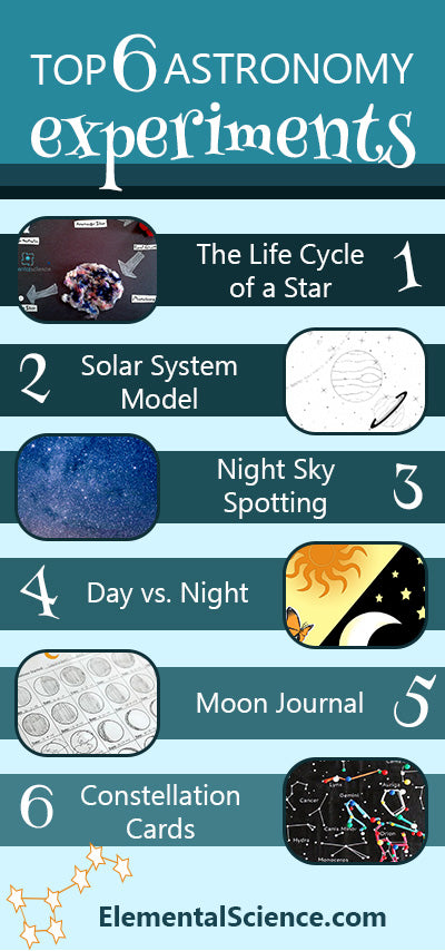 top 6 astronomy experiments