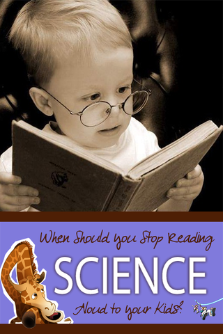 We all know reading aloud is great for our kids, but should we continue to read science to them for the entire time we homeschool?