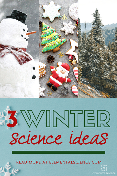 Spruce up the season with these 3 winter science ideas from Elemental Science