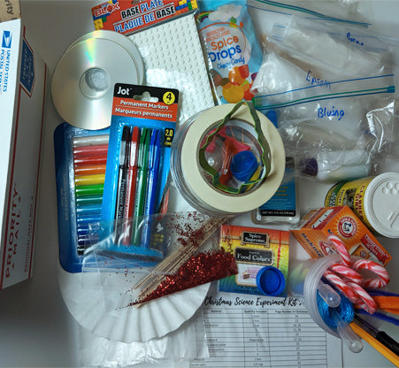 25 Activities for Christmas Science Supply Kit