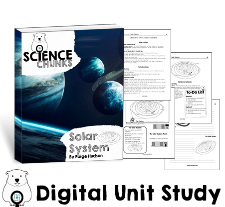 Science Chunks Solar System Unit