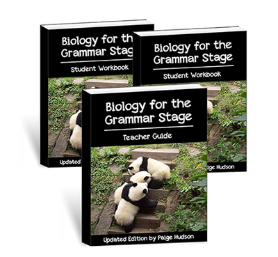 Biology For The Grammar Stage Printed Combo