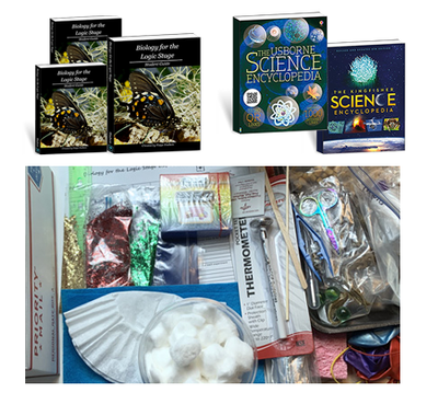 Biology for the Logic Stage Book Package Bundle