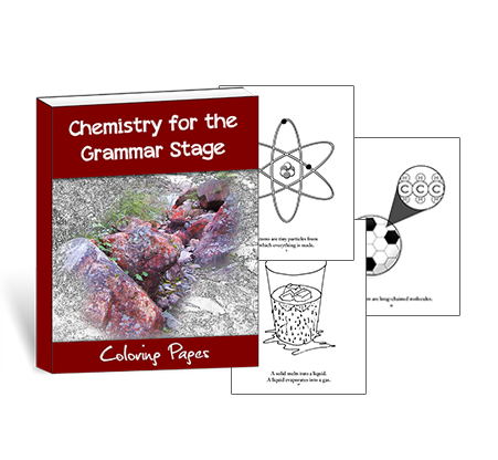 Chemistry for the Grammar Stage Coloring Pages