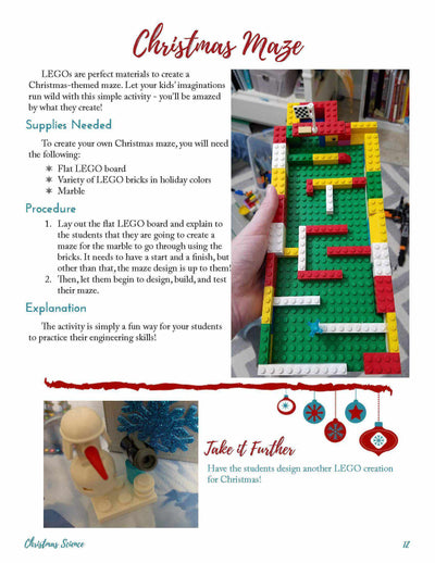 25 Activities for Christmas Science