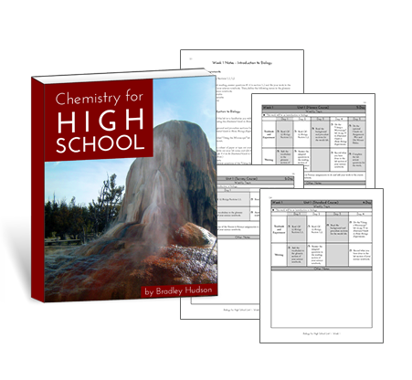 Chemistry for High School Printed Guide
