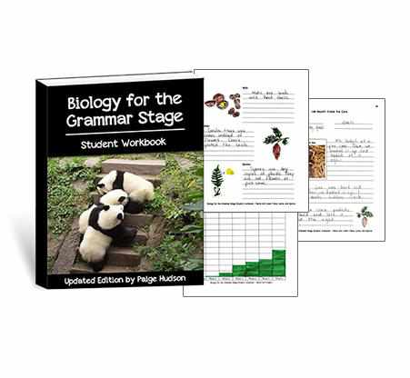 You will love to use these customized notebooking pages as you teach biology with Elemental Science.