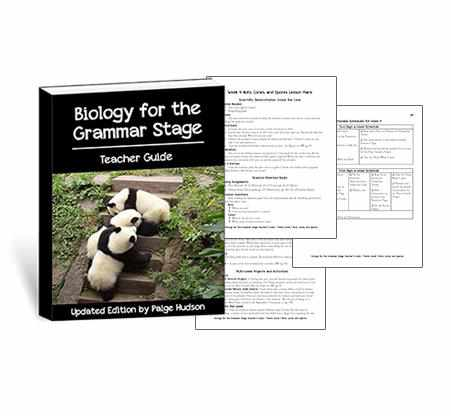 The tools you need to teach elementary biology in an easy-to-use format from Elemental Science.