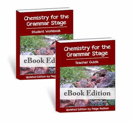 Chemistry For The Grammar Stage (ebook)