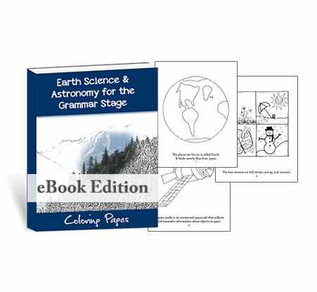 Get your STEAM going with these scientific coloring pages for earth science and astronomy.