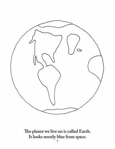 Earth Science and Astronomy Coloring pages | Elemental Science