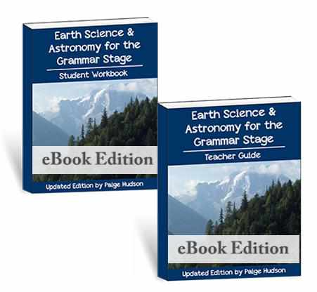Start teaching earth science and astronomy at home with this eBook from Elemental Science.