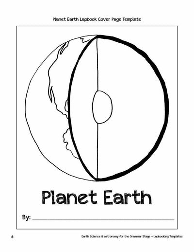 Classical Science - Earth Science & Astronomy Lapbooking Templates (eBook)