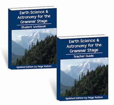 Teach earth science & astronomy to your elementary student with this homeschool science program.