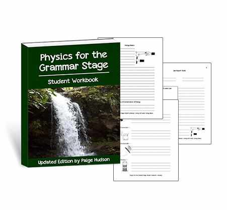 You will love to use these customized notebooking pages as you teach physics with Elemental Science.